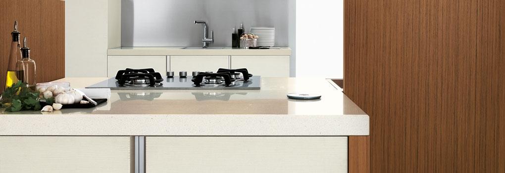 keukenblad van quartz
