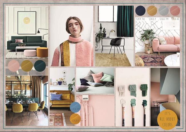 Kleurrijke Interieurs Pastel : Wat zijn deze lente de interieurtrends? doelbeek